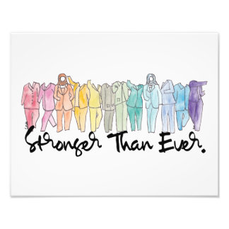 Stronger Together Large Print Photo Print