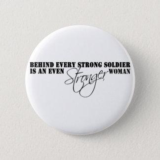 Stronger Woman 6 Cm Round Badge