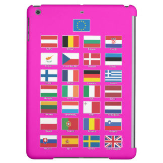 StrongerIn (Remain) iPad; EU 28 nations flags