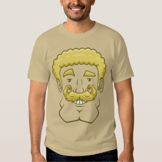 Strongstache (Curly Blond Hair) T-shirts