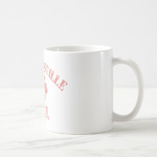 Strongsville Pink Girl Basic White Mug