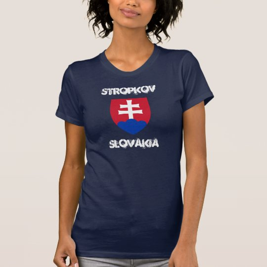 Stropkov, Slovakia with coat of arms T-Shirt
