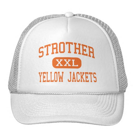 Strother - Yellow Jackets - High - Seminole Mesh Hats