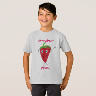 Strowbery Pawer T-Shirt