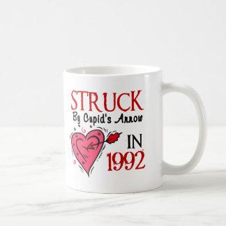 Struck By Cupid's Arrow In 1992 Basic White Mug