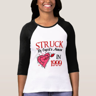 Struck By Cupid's Arrow In 1999 Tee Shirts
