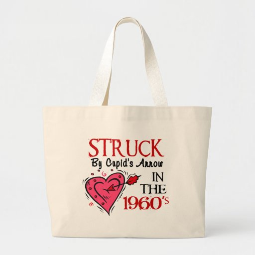 Struck With Cupid's Arrow In The 1960's Canvas Bag