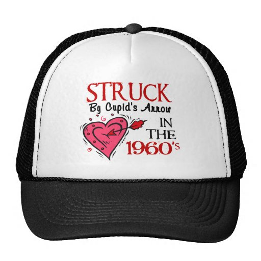 Struck With Cupid's Arrow In The 1960's Hat