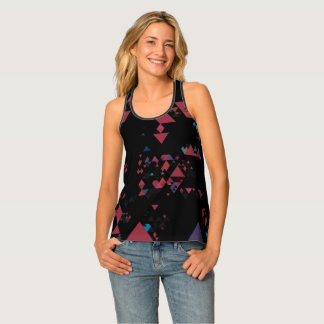Structural Geometry Tank Top