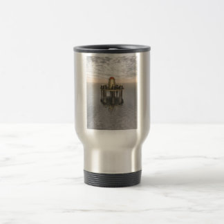 Structure At Sea Stainless Steel Travel Mug