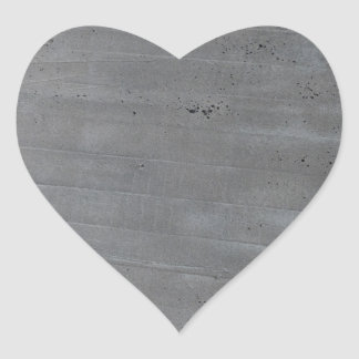 Structure of cement heart sticker