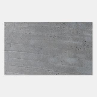 Structure of cement rectangular sticker