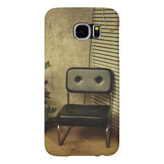 Structure Themed, A Wooden Chair, An Iron Chair An Samsung Galaxy S6 Cases