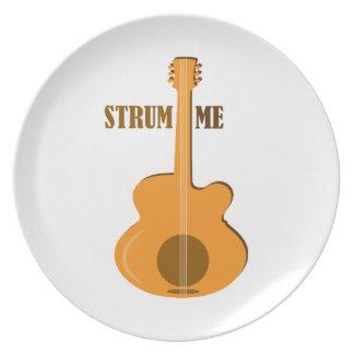 Strum Me Dinner Plate