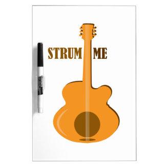 Strum Me Dry-Erase Boards