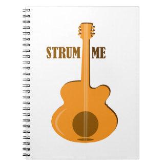 Strum Me Spiral Notebook