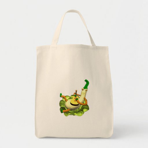 Strummer squash plays a tune tote bag