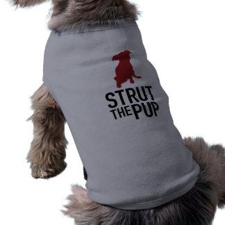 Strut the Pup - Doggy Tank Sleeveless Dog Shirt