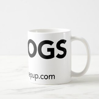 Strut the Pup - I Love Dogs Coffee Mug
