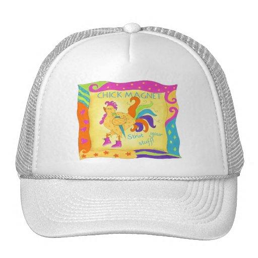 Strut Your Stuff Chick Magnet Hat