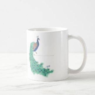 Strut Your Stuff Peacock Mug
