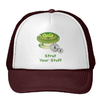 Strut Your Stuff Pinball Mesh Hats