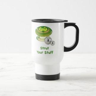 Strut Your Stuff Pinball Mugs