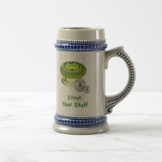 Strut Your Stuff Pinball Coffee Mugs