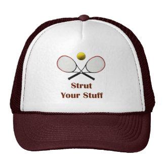 Strut Your Stuff Tennis Mesh Hats