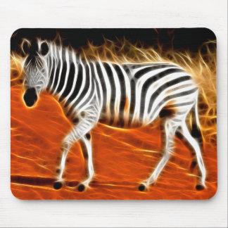 Strutting Zebra - Mousepad