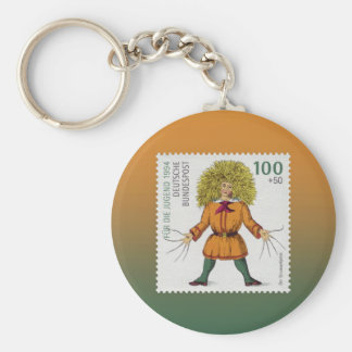 """Struwwelpeter"" Bad Grooming Habits ~ Unpopular Basic Round Button Key Ring"
