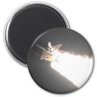 STS-119 6 CM ROUND MAGNET