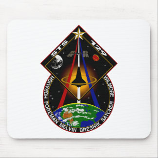 STS 129 patch Mouse Pad