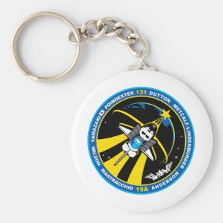 STS 131 Discovery Keychains