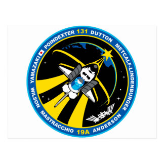 STS 131 Discovery Postcard