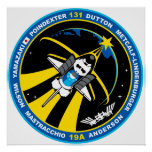 STS 131 Discovery Print