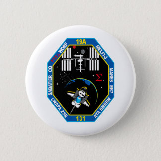 STS 131 Payload Group Patch 6 Cm Round Badge