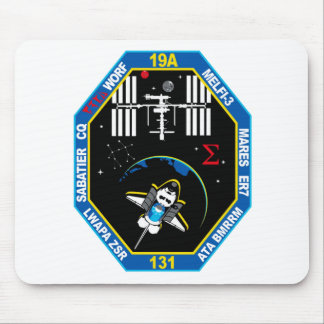 STS 131 Payload Group Patch Mouse Pad