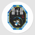 STS 131 Payload Group Patch Round Sticker