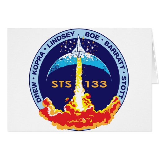 STS-133 Discovery Card
