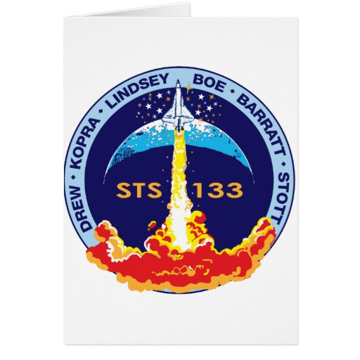 STS-133 Discovery Greeting Cards