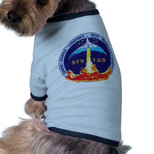 STS-133 Discovery Doggie T-shirt