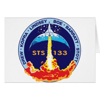 STS-133 Discovery Greeting Card