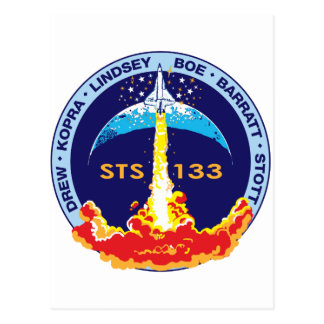 STS-133 Discovery Post Card