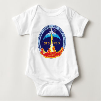 STS-133 mission patch Baby Bodysuit