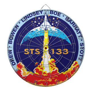 STS-133 mission patch Dart Board