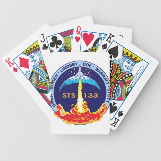 STS-133 mission patch Deck Of Cards