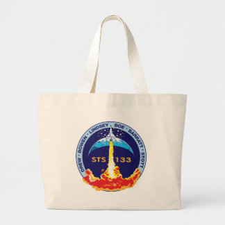STS-133 mission patch Jumbo Tote Bag