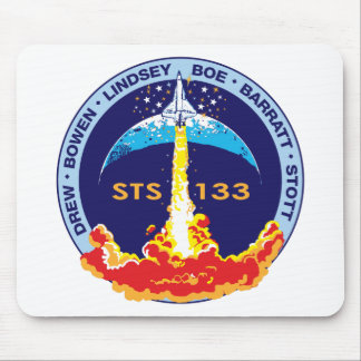 STS-133 mission patch Mouse Pad