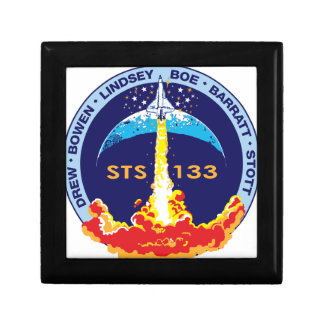 STS-133 mission patch Small Square Gift Box